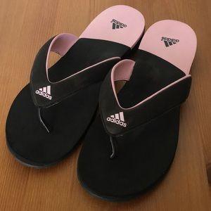 EUC Women's Quality Adidas Flip Flops 8/9